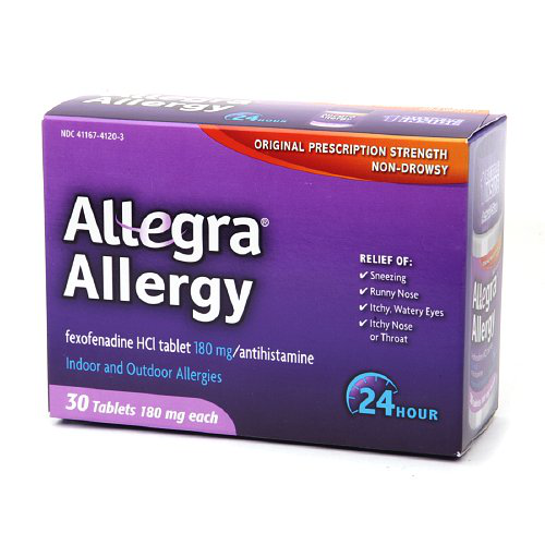 Allegra 24 Hour Allergy, Tablets