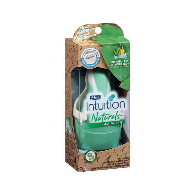 Schick Intuition舒芙仕 女士剃毛刀(脱毛 除毛)|Schick - Intuition Naturals Sensitive Care Razor