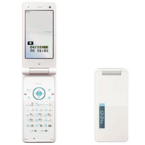 Docomo SHARP SH-11C Unlocked Waterproof Cell Phone White