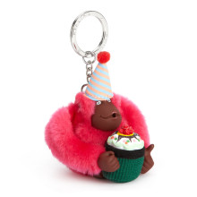 Birthday Monkey Keychain