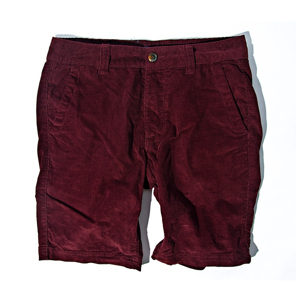 夏日男款休闲短裤Tailor 2013 summerwear corduroy Red shorts