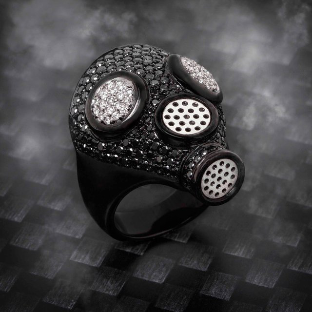 JBH Gas Mask Ring - $6995