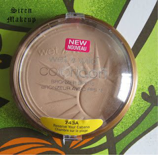 Wet n Wild Coloricon Bronzer with SPF 15, RESERVE YOUR CABANA 自然高光色