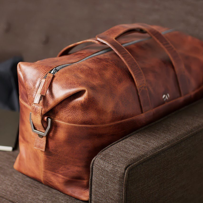48 HR Leather Bag by Octovo