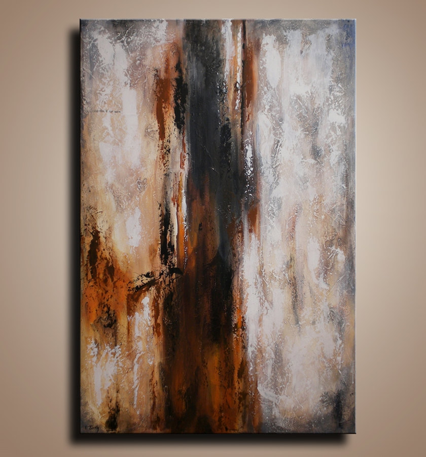 "54"" Abstract Painting on Canvas Contemporary Abstract  Modern Art  wall decor for your home - MADE-TO-ORDER"