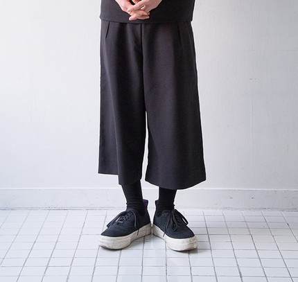 [ROCKER CHEN]DROK WIDE PANTS (2COLOR)裤的图片