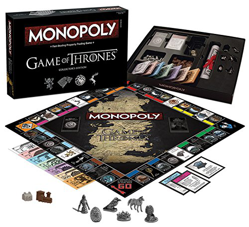 Monopoly: Game of Thrones Collector's Edition Board Game的图片