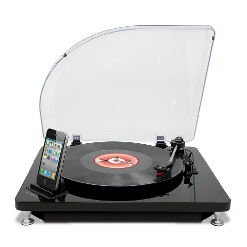 ION iLP Digital Conversion Turntable for iPhone, iPad and iPod touch with Conversion Software的图片