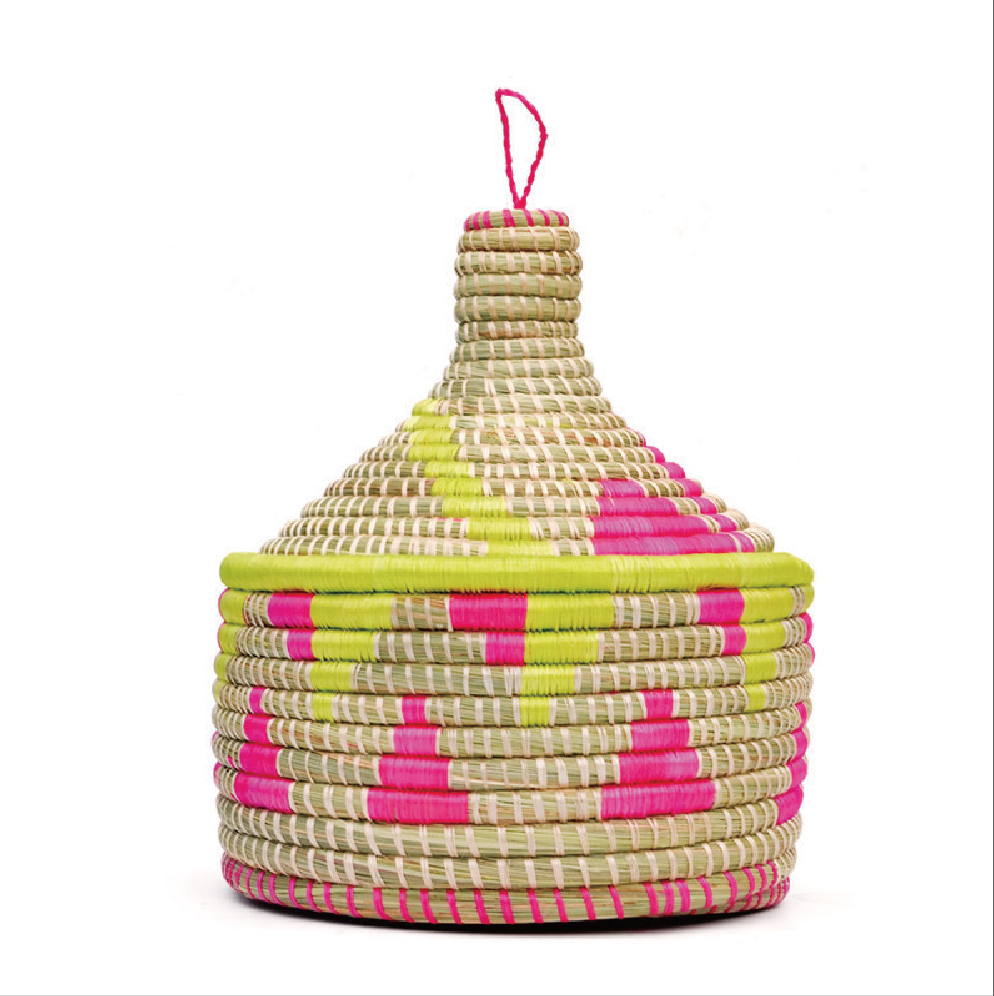 MARRAKECH NEON BASKET