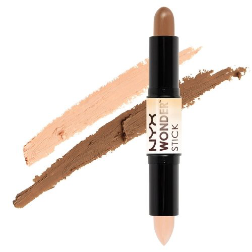 【让五官立体的高光修容一支搞定】NYX Wonder Stick, Highlight and Contour Stick, Med/Tan, WS02