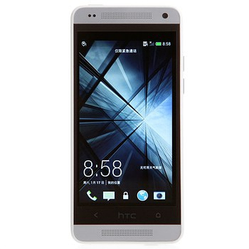 HTC ONE mini(601e)3G手机(冰川银)WCDMA/GSM