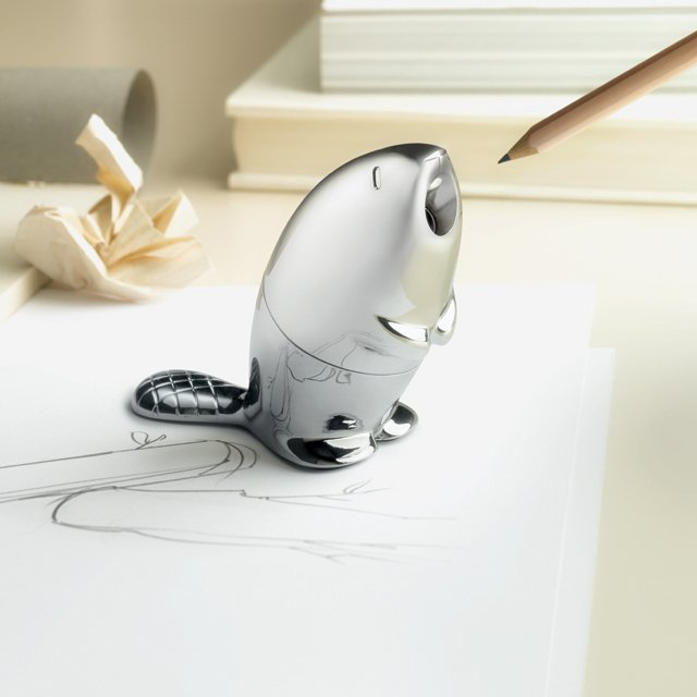 Beaver Pencil Sharpener by Alessi