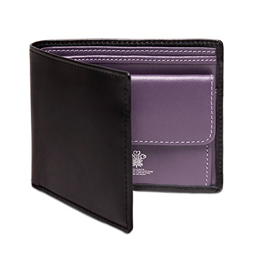 ETTINGER Leather Billfold Wallet: Ettinger Sterling 系列小牛皮钱包