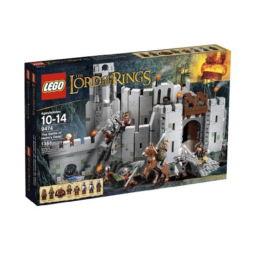 LEGO The Lord of the Rings 9474 The Battle of Helm's Deep乐高 魔戒 圣盔谷之战的图片