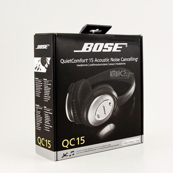 BOSE QuietComfort15 QC15 降噪耳机