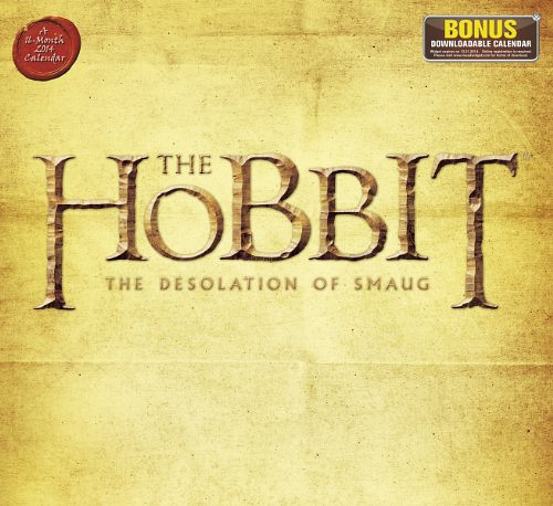 2014 The Hobbit The Desolation of Smaug Wall Calendar