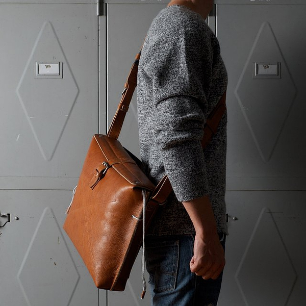 Heritage Work Satchel by Hard Graft
