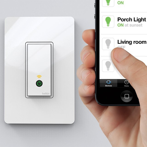 Wi-Fi Light Switch by WeMo的图片