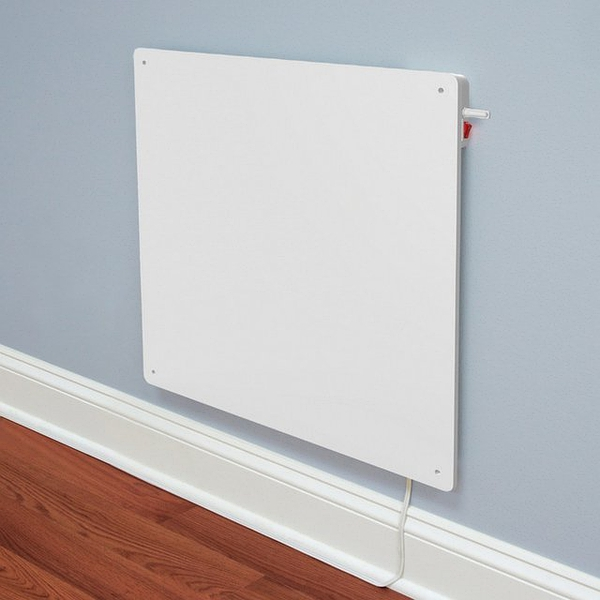Wall-Mounted Panel Heater with Built-in Thermostat的图片