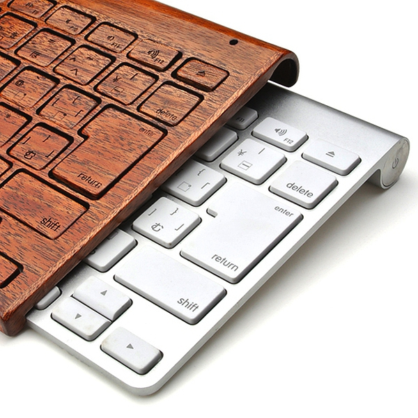 Apple Wireless Keyboard Wood Cover