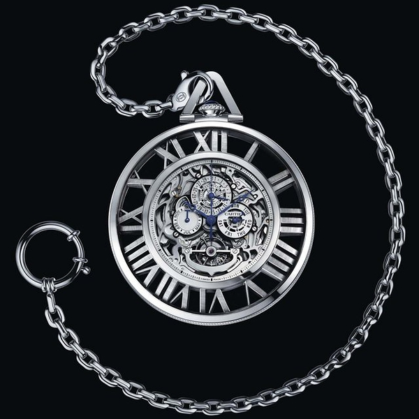 Cartier Skeleton Pocket Watch