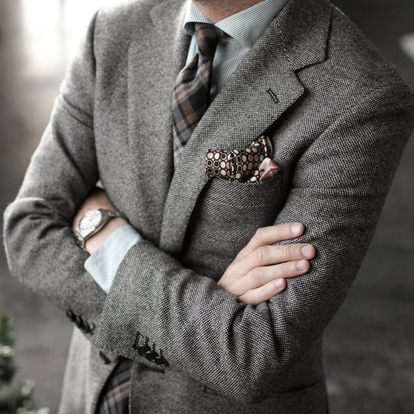 Tweed Blazer by P Johnson