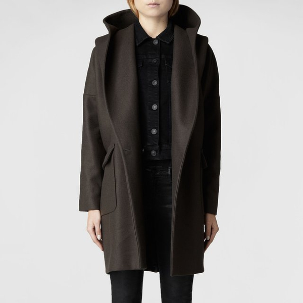 Hooded Klein Coat by AllSaints的图片