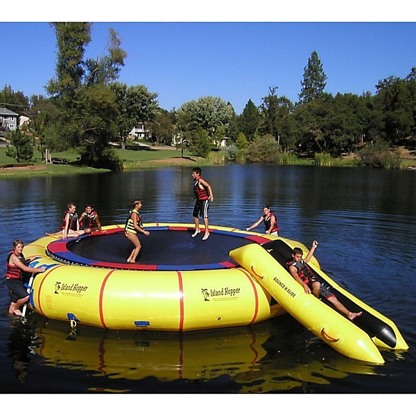 Island Hopper Giant Jump 25 Foot Water Trampoline