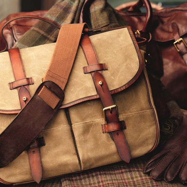 Canvas Messenger Bag by Polo Ralph Lauren