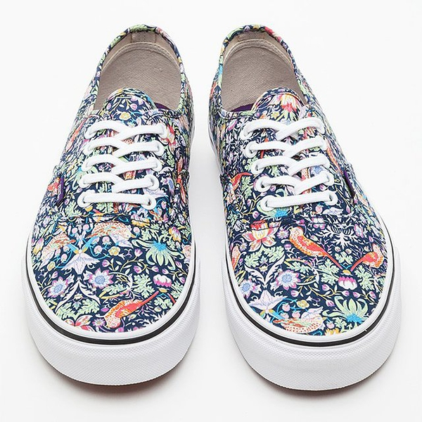 Liberty x Vans Authentic Birds Sneakers
