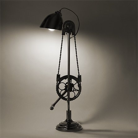 Bicycle Desk Lamp 的图片