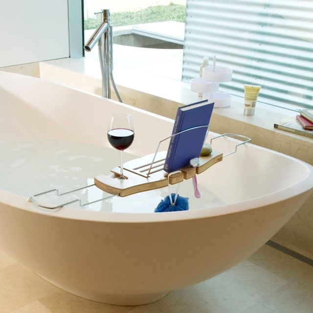 Umbra Aquala Bathtub Caddy 的图片