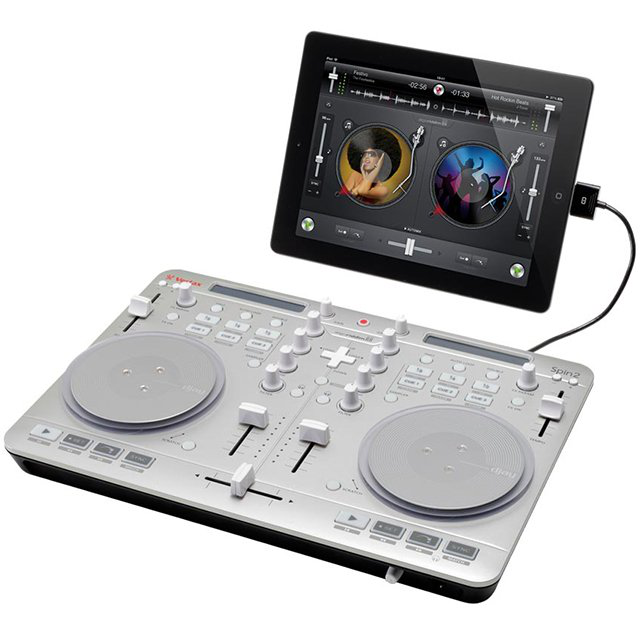 威士达Vestax spin 2 Mac iPhone 4S 5 ipad DJ控制器 打碟机