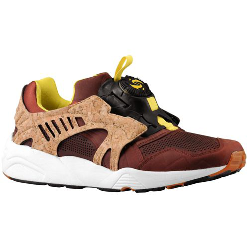 "PUMA MMQ Leather Disc Blaze Cage Lux ""Cork"" -CHILI 软木塞"