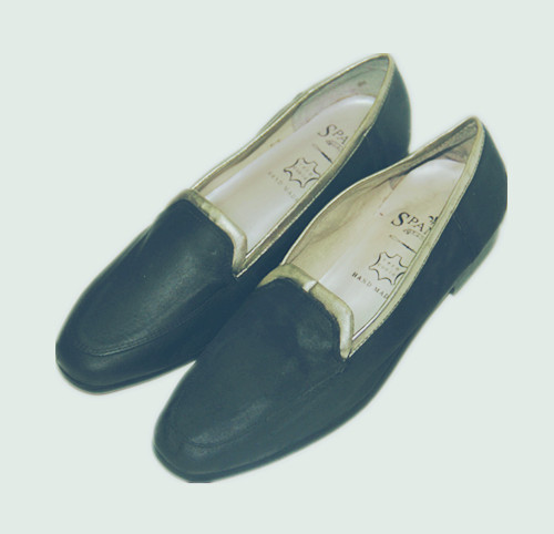 文艺小青年 手工制 出口美国小牛皮鞋 Loafer Vintage Shoe 有暇