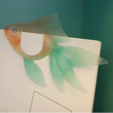 韩国进口书签 TTABLE-OFFICE Fish BOOKMARK