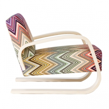 Aalto 400 Tank chair, Missoni fabric - Artek 400 Tank - Lounge & Sofas - Furniture - Finnish Design Shop