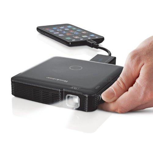 Brookstone HDMI Pocket Projector 便携投影仪