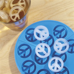 Peace Signs Ice Cube Tray at The Music Stand的图片