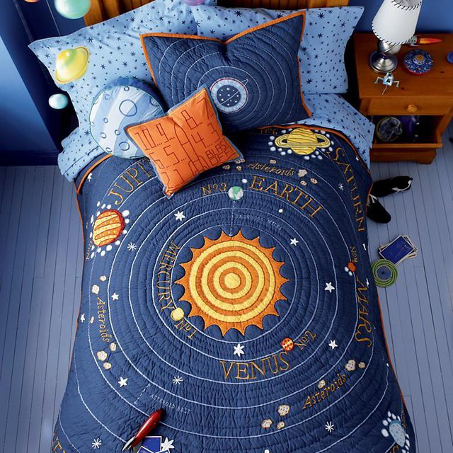 All Solar Systems Go Bedding 的图片