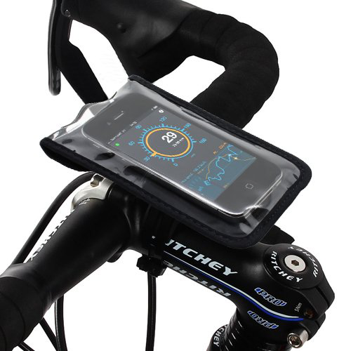 Satechi Bikemate Slim Case 3 for iPhone 5S, 5C, 5, 4S, 4, 3GS, 3G, BlackBerry Torch, HTC EVO, HTC Inspire 4G, HTC Sensat的图片