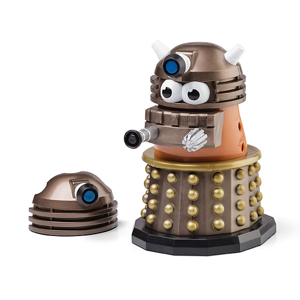 Doctor Who Gold Dalek Mr. Potato Head的图片