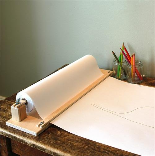 Table-Top Paper Holder & Cutter - $19