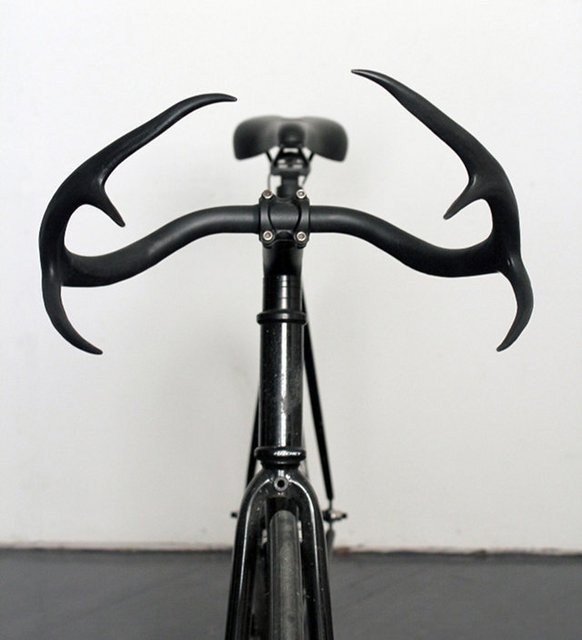 Deer Antler Bicycle Handles