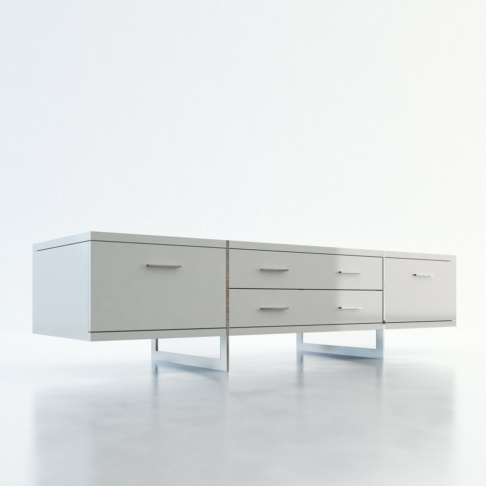 Allen Media Cabinet by Modloft - $1350的图片