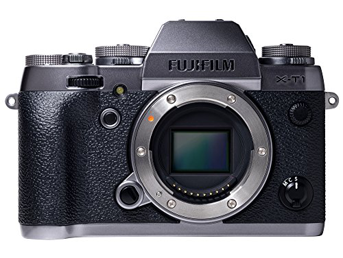 Fujifilm X-T1 16 MP Compact System Camera with 3.0-Inch LCD (Body Only) (Graphite Silver)的图片