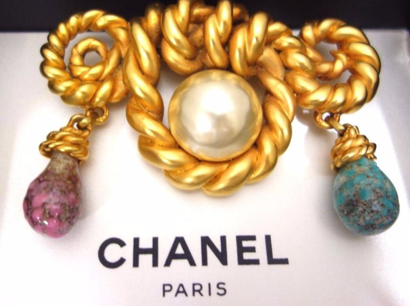 VINTAGE LIMITED EDITION, RARE CHANEL BROOCH的图片