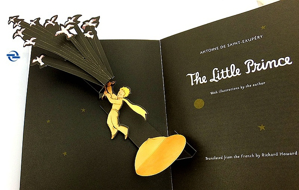 小王子立体书 (英文原版The Little Prince Deluxe Pop-Up Book)的图片