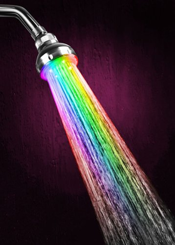 LED Color Changing Showerhead的图片