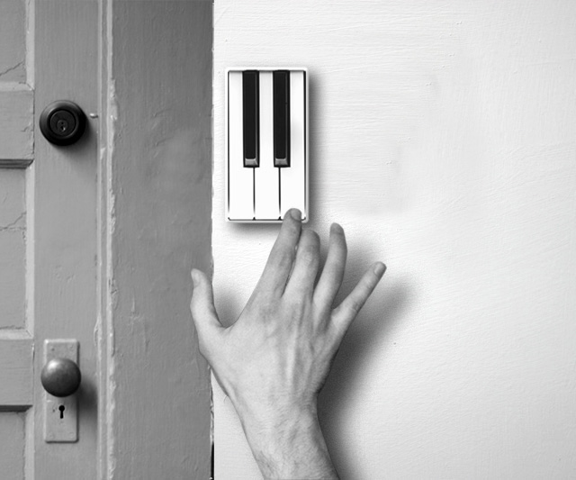 Piano Keys Light Switch Cover 的图片